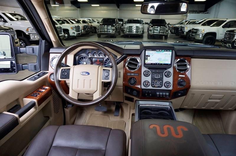 2015 Ford F-250 Super Duty 4x4 King Ranch 4dr Crew Cab 6.8 ft. SB Pickup - Houston TX