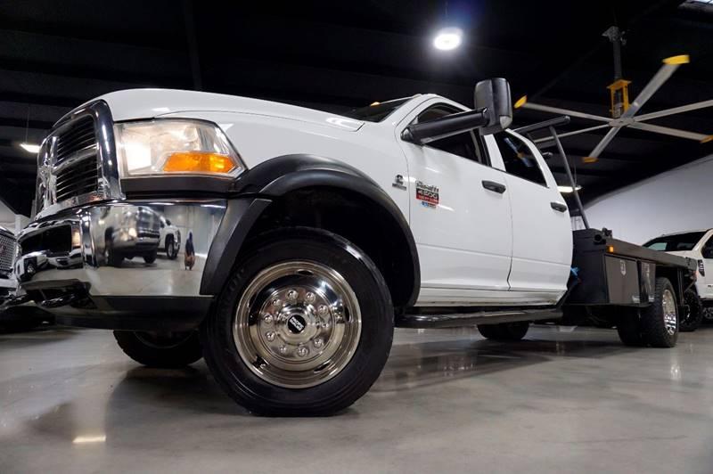 2011 RAM Ram Pickup 4500 6.7L CUMMINS FLAT BED - Houston TX