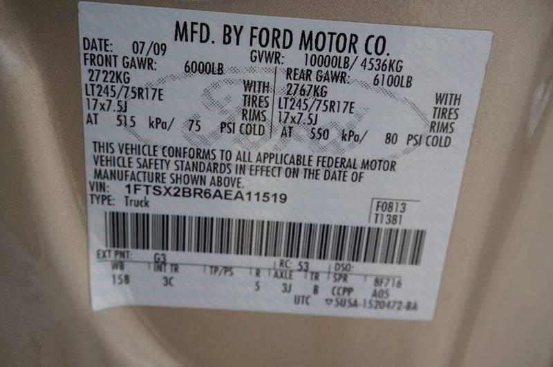 2010 Ford F-250 Super Duty 4x4 XLT 4dr SuperCab 8 ft. LB Pickup - Houston TX