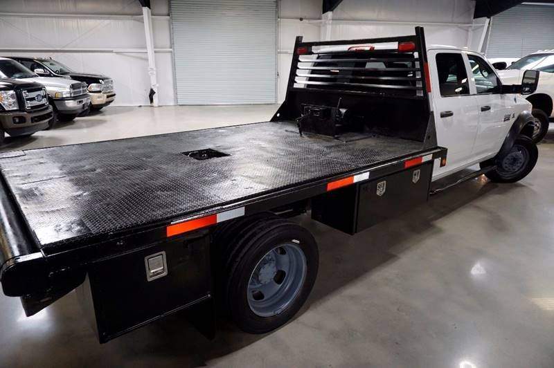 2011 RAM Ram Pickup 4500 DIESEL FLAT BED - Houston TX