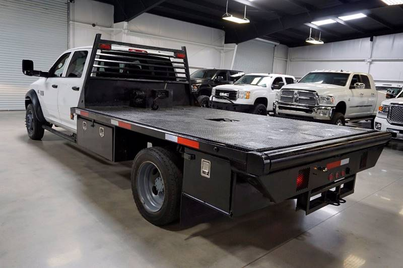 2011 RAM Ram Pickup 4500 DIESEL FLAT BED - Houston TX