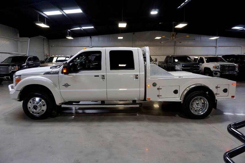 2016 Ford F-450 Super Duty 4x4 Platinum 4dr Crew Cab 8 ft. LB DRW Pickup - Houston TX