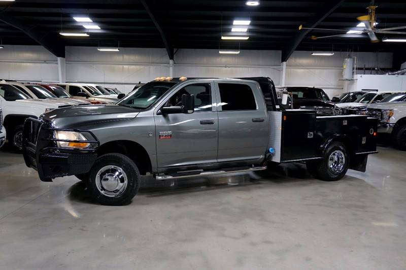2012 RAM Ram Chassis 3500 4x4 ST 4dr Crew Cab 172.4 in. WB Chassis - Houston TX