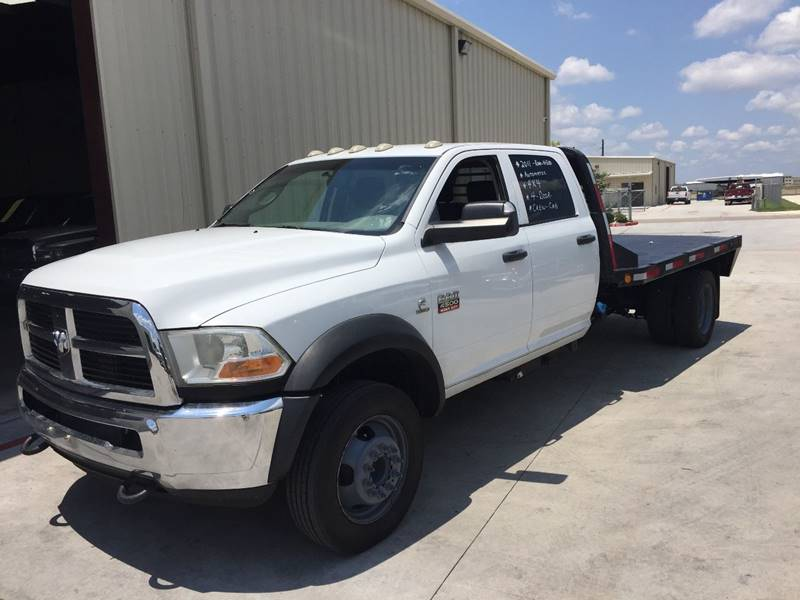 2012 RAM Ram Pickup 4500 DIESEL 4X4 FLAT BED - Houston TX