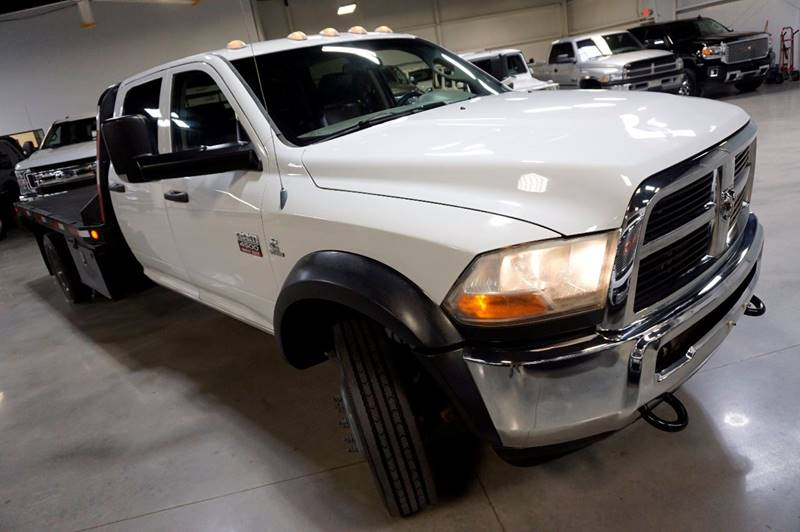 2012 RAM Ram Pickup 4500 DIESEL 4X4 FLAT BED - Houston TX