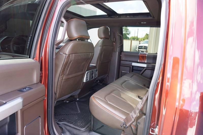 2017 Ford F-250 Super Duty 4x4 King Ranch 4dr Crew Cab 6.8 ft. SB Pickup - Houston TX