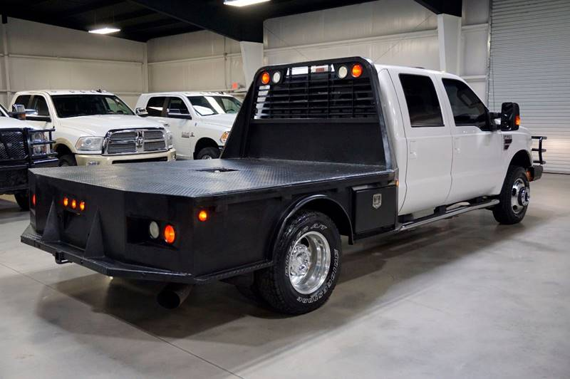 2010 Ford F-350 Super Duty 4x4 Lariat 4dr Crew Cab 8 ft. LB DRW Pickup - Houston TX