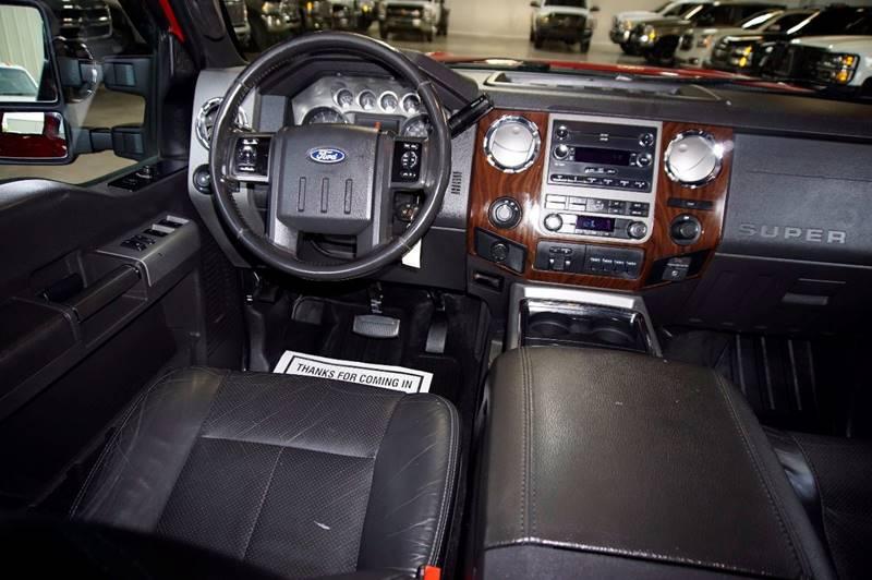 2011 Ford F-550 Lariat Diesel 4X4 Flat Bed - Houston TX