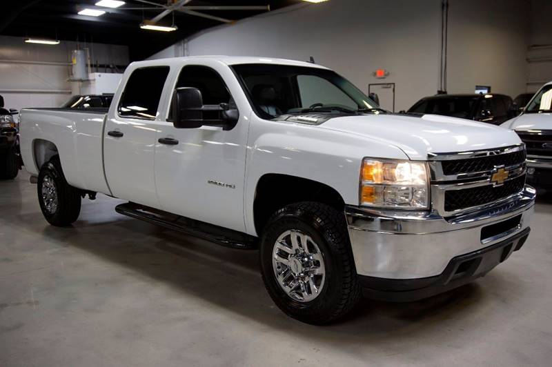 2012 Chevrolet Silverado 2500HD 4x4 Work Truck 4dr Crew Cab LB - Houston TX
