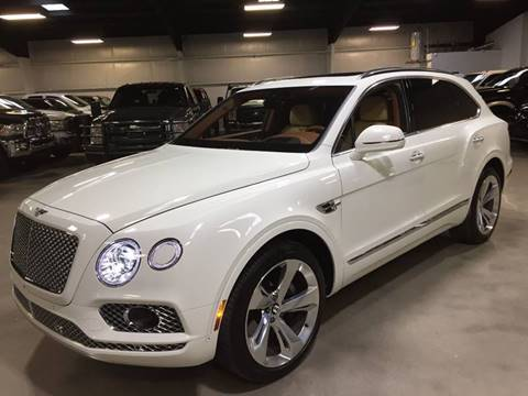 2017 Bentley Bentayga W12 for sale at Diesel Of Houston in Houston TX