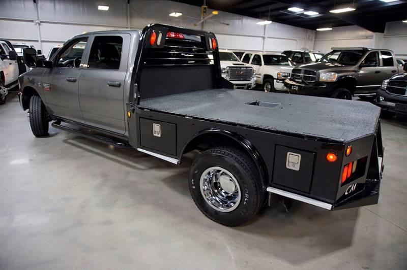 2012 RAM Ram Pickup 3500 4x4 ST 4dr Crew Cab 8 ft. LB Pickup - Houston TX