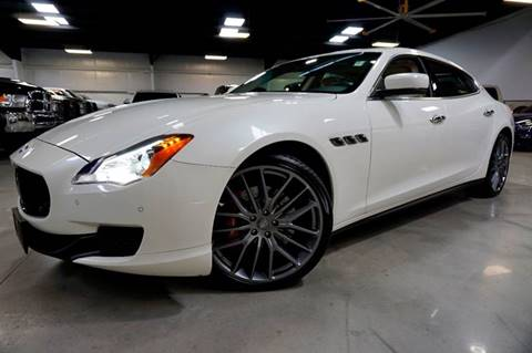 2015 Maserati Quattroporte for sale at Diesel Of Houston in Houston TX