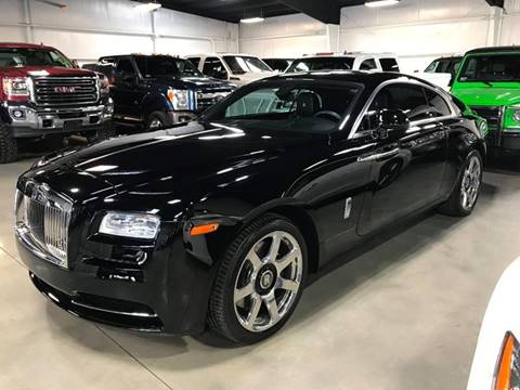 2014 Rolls-Royce Wraith for sale at Diesel Of Houston in Houston TX
