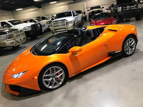 2017 Lamborghini Huracan for sale at Diesel Of Houston in Houston TX
