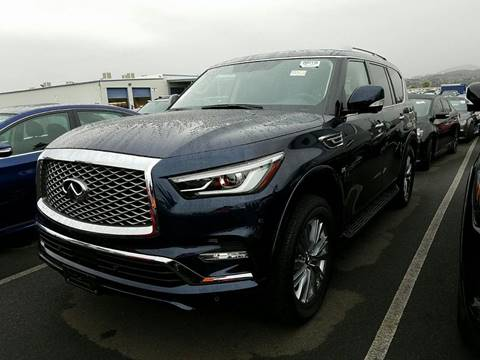 2018 Infiniti QX80 for sale at Diesel Of Houston in Houston TX