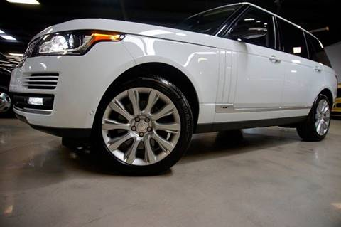 2015 Land Rover Range Rover for sale at Diesel Of Houston in Houston TX