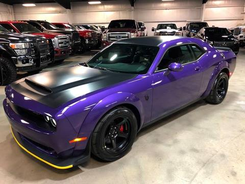 2018 Dodge Challenger for sale at Diesel Of Houston in Houston TX