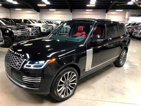 2019 Land Rover Range Rover for sale at Diesel Of Houston in Houston TX