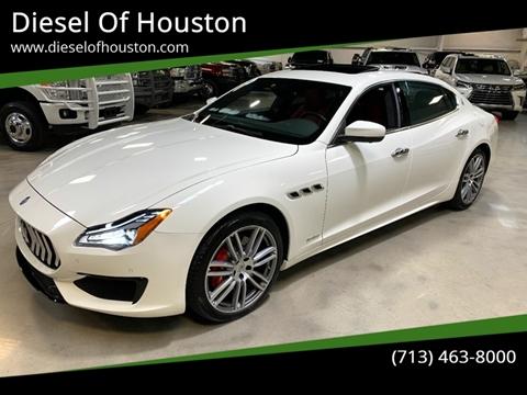 2018 Maserati Quattroporte for sale at Diesel Of Houston in Houston TX