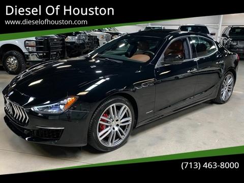 2018 Maserati Ghibli for sale at Diesel Of Houston in Houston TX
