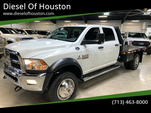 2017 RAM Ram Chassis 5500 for sale in Houston, TX