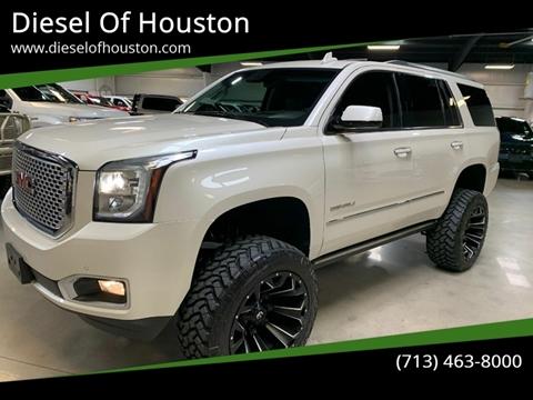 2015 GMC Yukon for sale at Diesel Of Houston in Houston TX