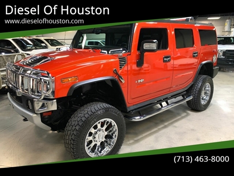 2008 HUMMER H2 for sale at Diesel Of Houston in Houston TX
