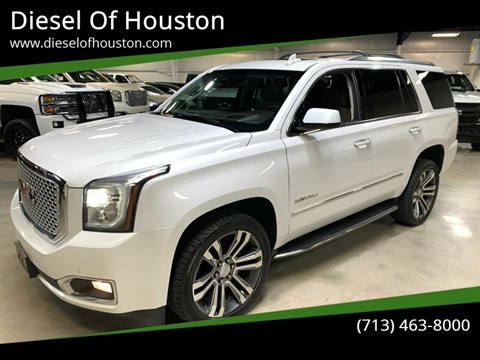 2017 GMC Yukon for sale at Diesel Of Houston in Houston TX