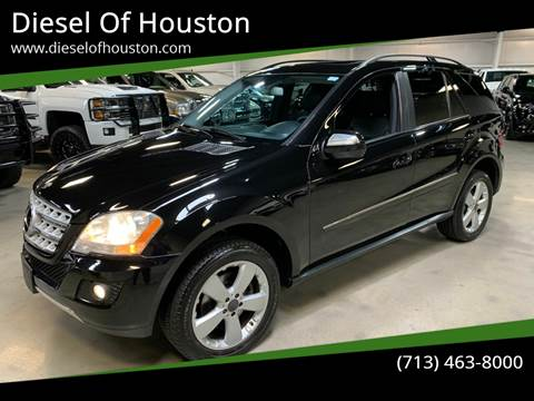 2009 Mercedes-Benz M-Class for sale at Diesel Of Houston in Houston TX