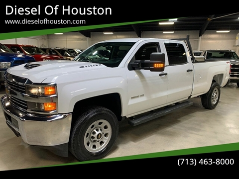 2018 Chevrolet Silverado 3500HD for sale at Diesel Of Houston in Houston TX