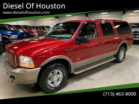 2003 Ford Excursion for sale at Diesel Of Houston in Houston TX