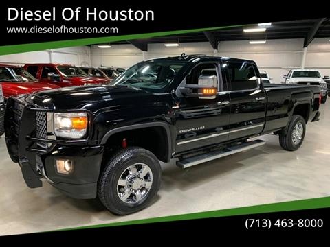 2015 GMC Sierra 3500HD for sale at Diesel Of Houston in Houston TX