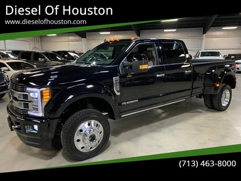 2019 Ford F-450 Super Duty for sale at Diesel Of Houston in Houston TX