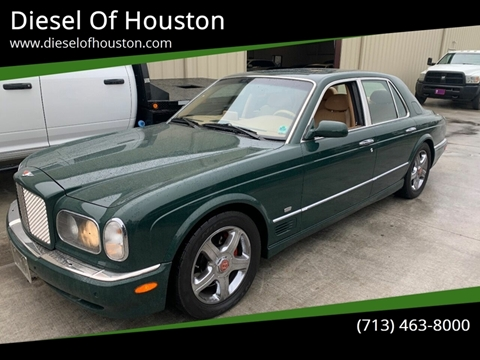 2001 Bentley Arnage for sale at Diesel Of Houston in Houston TX