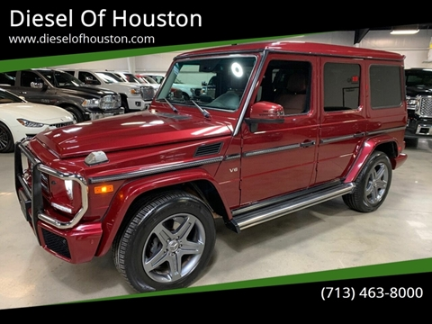2017 Mercedes-Benz G-Class for sale at Diesel Of Houston in Houston TX