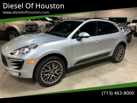 2016 Porsche Macan for sale at Diesel Of Houston in Houston TX