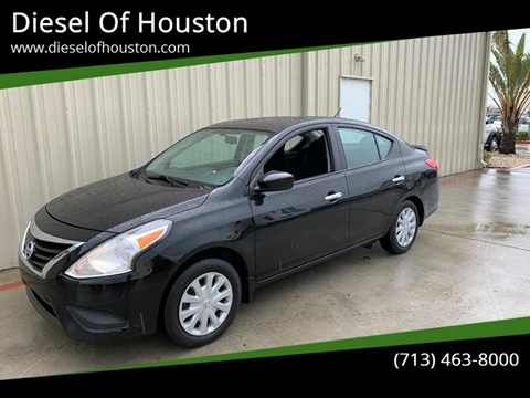 2015 Nissan Versa for sale at Diesel Of Houston in Houston TX