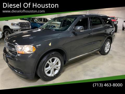 2011 Dodge Durango for sale at Diesel Of Houston in Houston TX