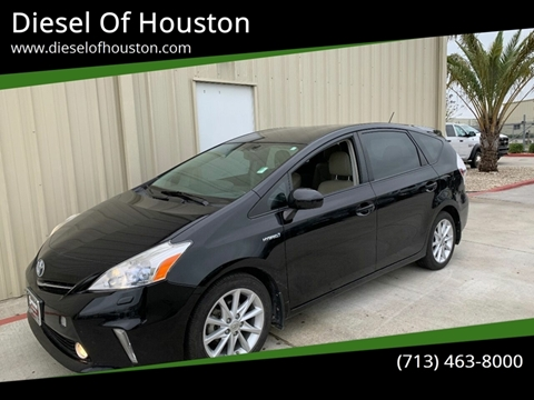 2013 Toyota Prius v for sale at Diesel Of Houston in Houston TX