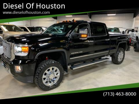 2016 GMC Sierra 2500HD for sale at Diesel Of Houston in Houston TX