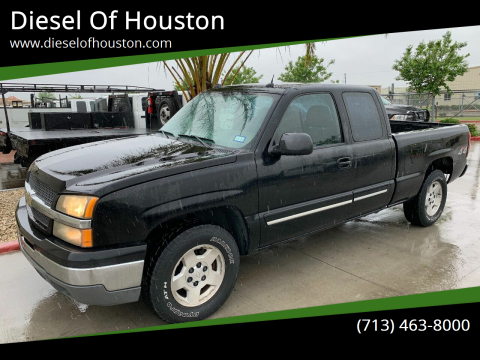 2005 Chevrolet Silverado 1500 for sale at Diesel Of Houston in Houston TX