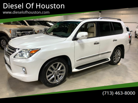 2014 Lexus LX 570 for sale at Diesel Of Houston in Houston TX