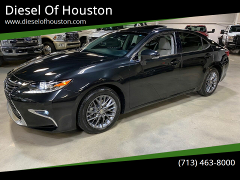 2018 Lexus ES 350 for sale at Diesel Of Houston in Houston TX