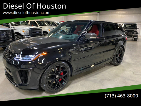 2020 Land Rover Range Rover Sport for sale at Diesel Of Houston in Houston TX