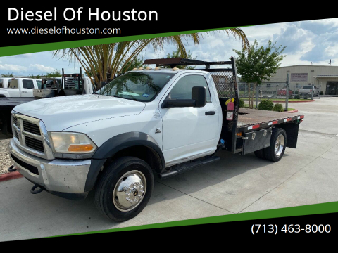 2012 RAM Ram Chassis 5500 for sale at Diesel Of Houston in Houston TX