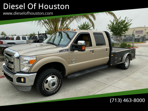 2011 Ford F-350 Super Duty for sale at Diesel Of Houston in Houston TX