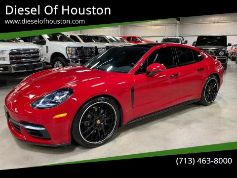 2017 Porsche Panamera for sale at Diesel Of Houston in Houston TX