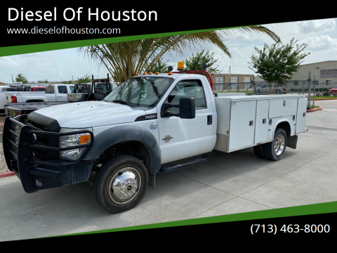 2012 Ford F-550 Super Duty for sale at Diesel Of Houston in Houston TX
