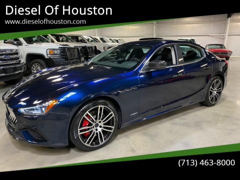 2019 Maserati Ghibli for sale at Diesel Of Houston in Houston TX