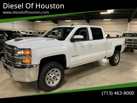 2017 Chevrolet Silverado 2500HD for sale at Diesel Of Houston in Houston TX